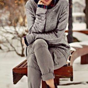 Rock & Republic silver knit  sweater